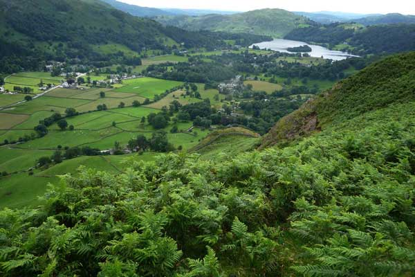 Grasmere Lake from Helm Crag